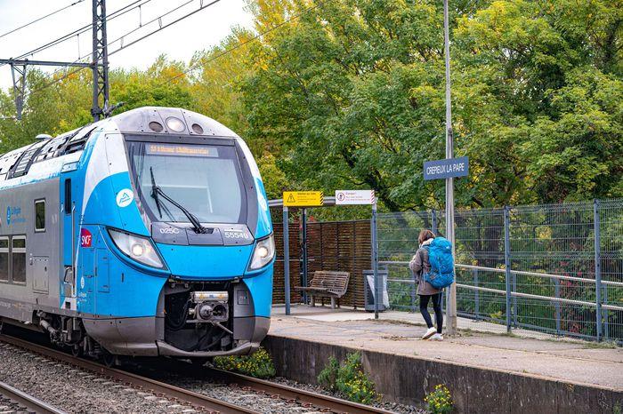 RILLIEUX-LA-PAPE | Plus de trains en gare de Crépieux