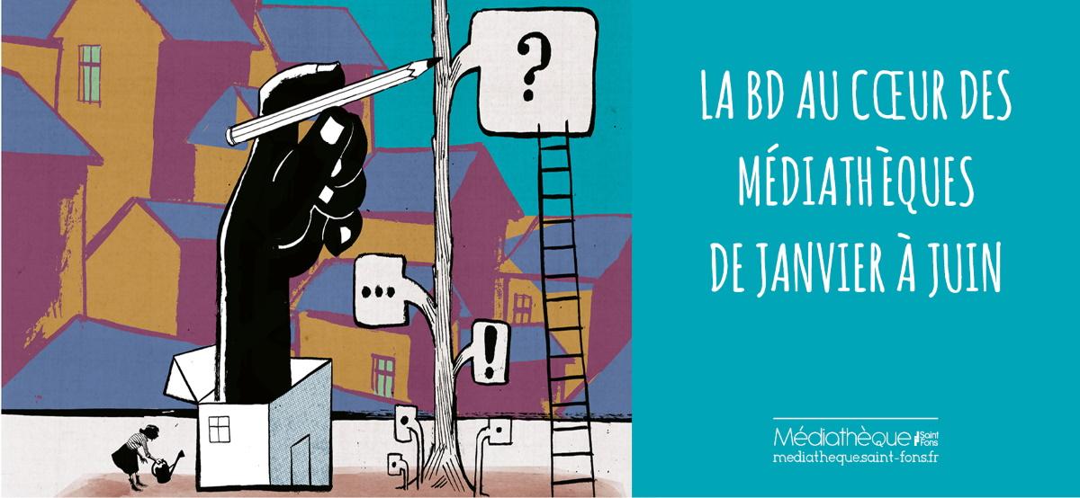 Saint-Fons | Bande dessinée autour de la commune