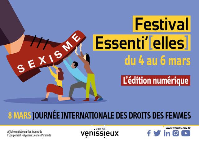 VENISSIEUX | FESTIVAL Essenti'[elles] 2021 >>>>>>>>>> (du 4 au 6 mars)