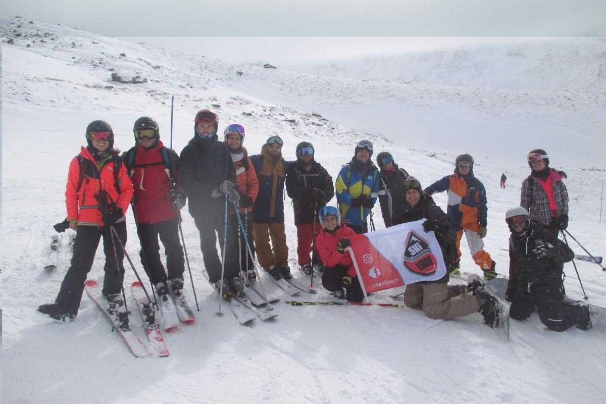 Ski Lyon   «nous pensons aux acteurs de la montagne luttant au quotidien»