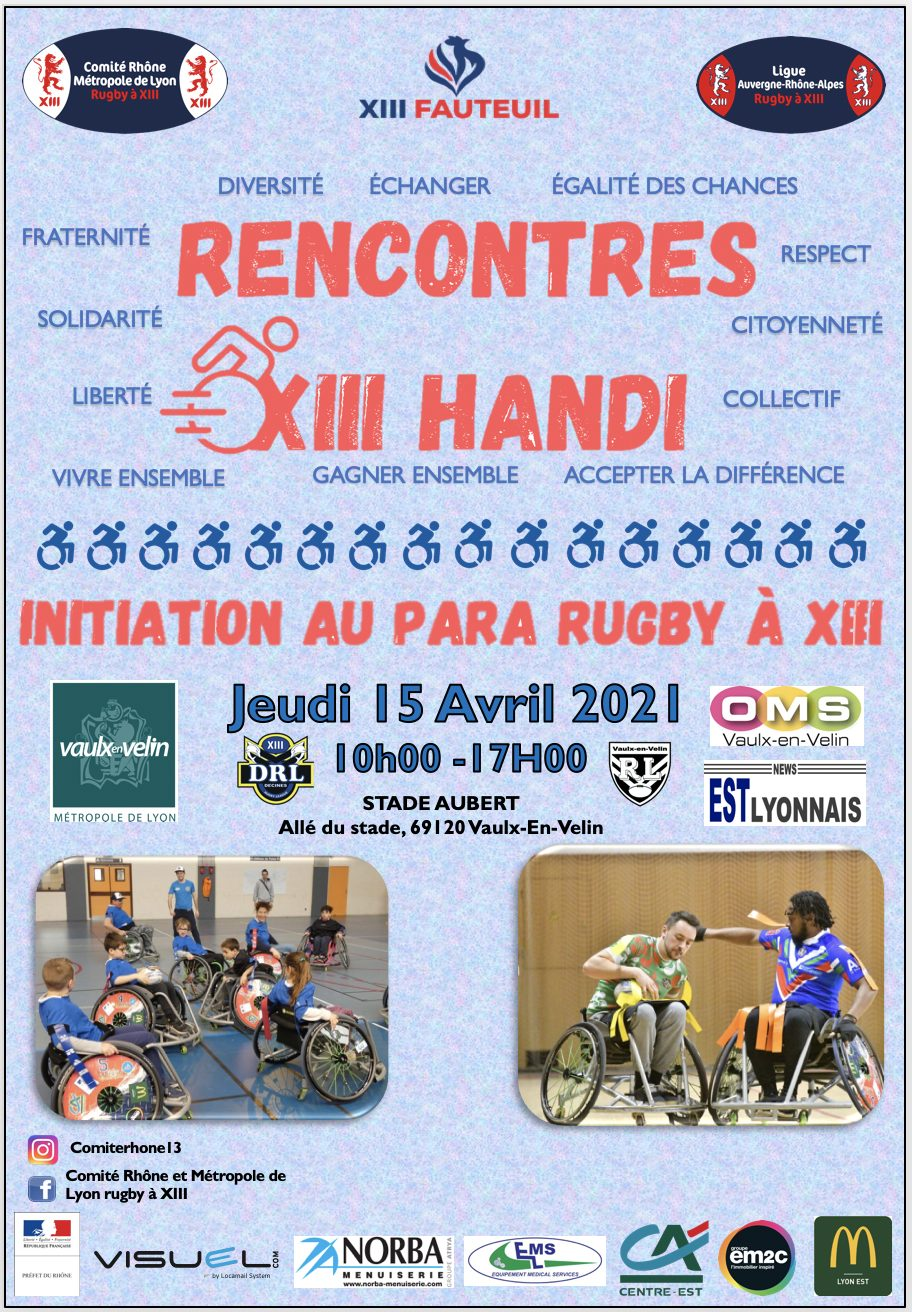 Vaulx-en-Velin | Annulation des rencontres XIII Handi