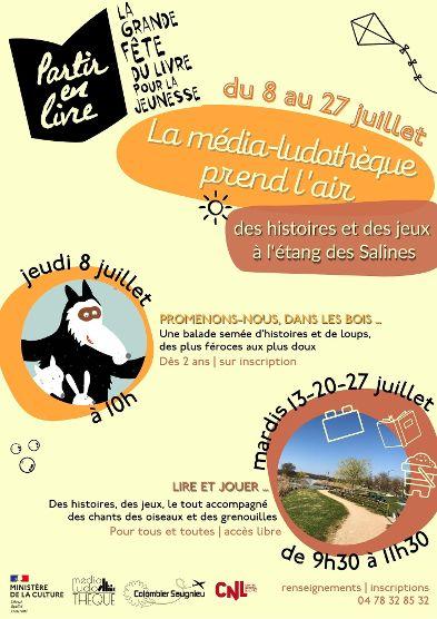 Colombier-Saugnieu   « Partir en Livre » > 7° édition (8 au 27 juin)
