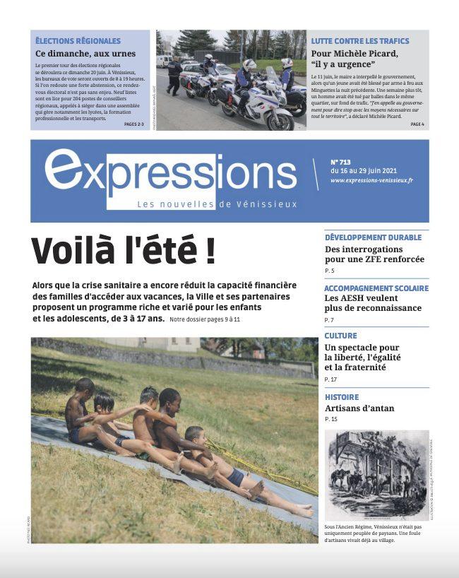 VENISSIEUX   Sortie du n° 713 d'Expressions