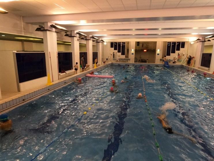 L'école de natation