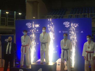 Podium juniors masculins - 76 kg