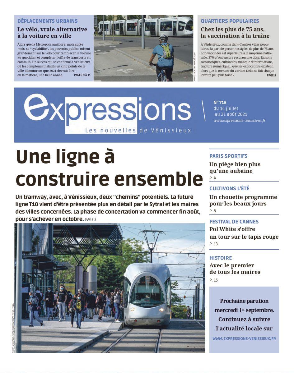VENISSIEUX | Sortie du n° 715 d'Expressions