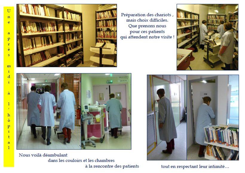 LYON | L'Association des Bibliothèques d'Hôpitaux en recherche de bénévoles