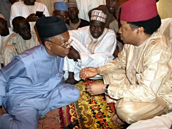 Image result for pictures of el rufai and shehu sani