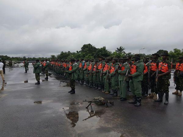 •Operation Crocodile Smile troops