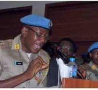 •Peace Corps Commandant Dickson Akor