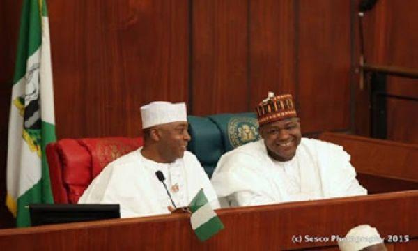 •Senate President Sakari and House Speaker Dogara