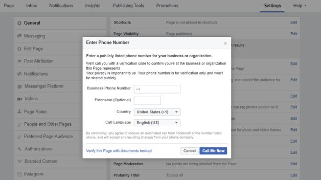 Facebook Verification 2