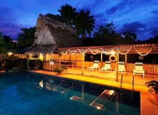 pacific island resort Kosrae Nautilus Resort