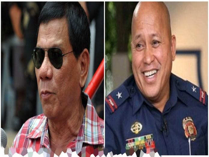 President Rodrigo Duterte/ PNP Chief Ronald 'Bato' Dela Rosa