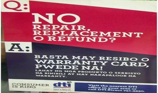 Anti-No Return, No Exchange poster