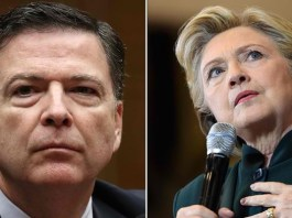 Comey and Clinton