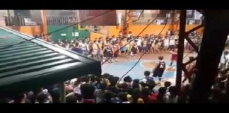 viral video of basketball tournament
