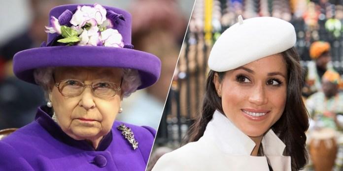 Queen Elizabeth II / Meghan Markle