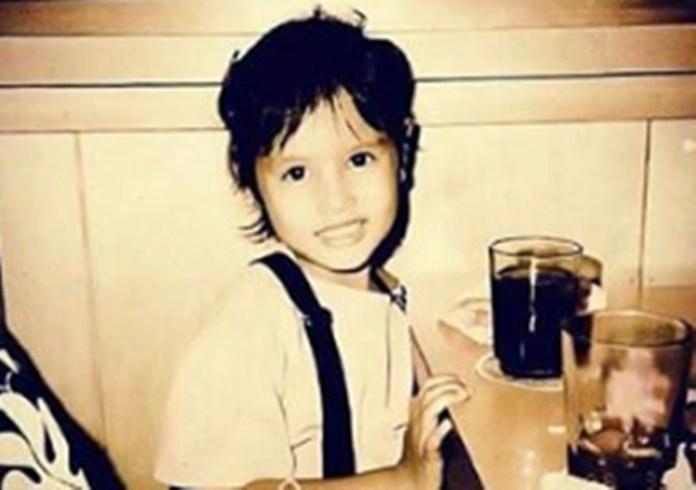 Neri Miranda childhood photo
