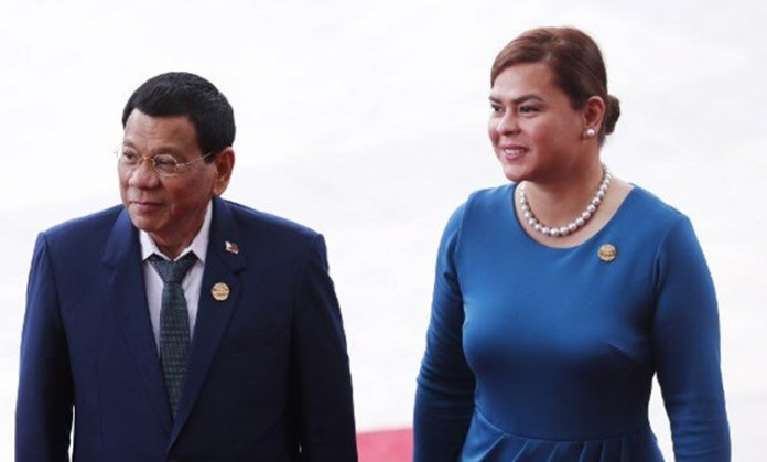 Kissing scene of Duterte, Sara Duterte will accompany her father's foreign trips