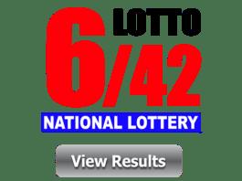 6 42 Lotto Result