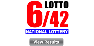 6 42 Lotto Result