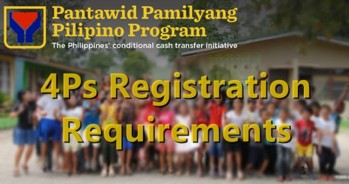 4Ps Registration Requirements