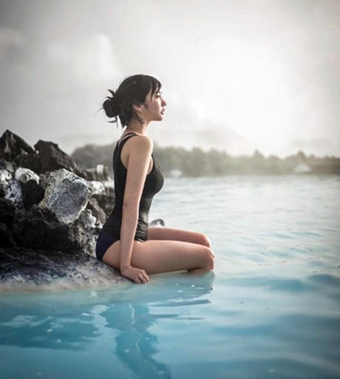 Alodia Gosiengfia swimsuit photo