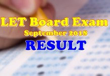 LET Board Exam Result