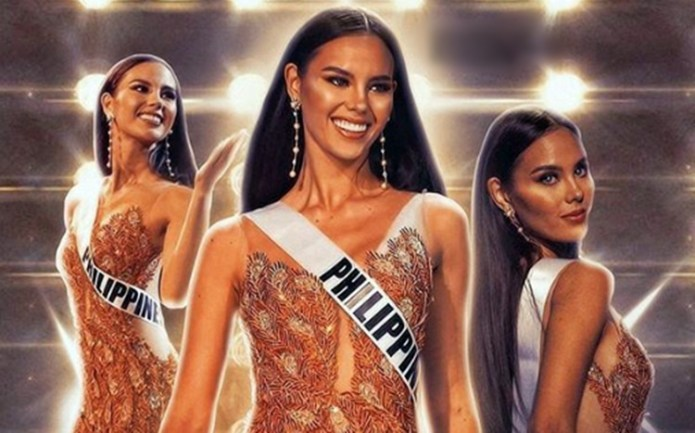 Catriona Gray preparation for Q & A