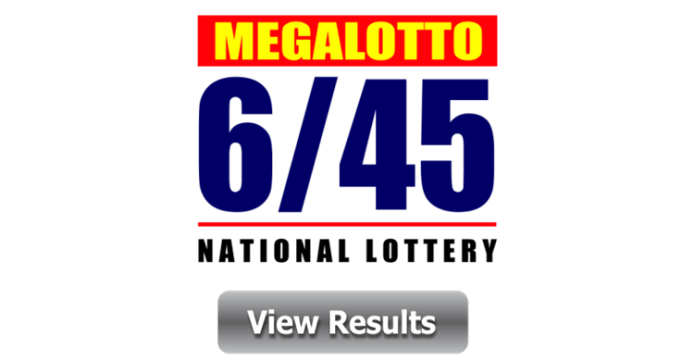 6/45 Mega Lotto Winners