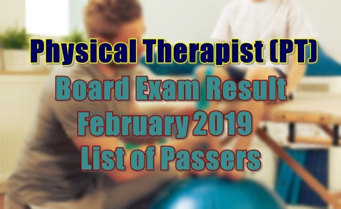 physical therapist passers