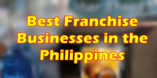 Best Franchise Business Philippines