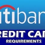 Requirements Citibank Credit Card