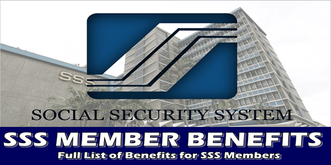 SSS Member Benefits