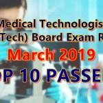 medtech top 10 passers