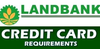 Credit Card Requirements Landbank