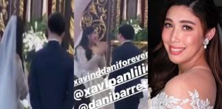 Dani Barretto-Xavi Panlilio Wedding