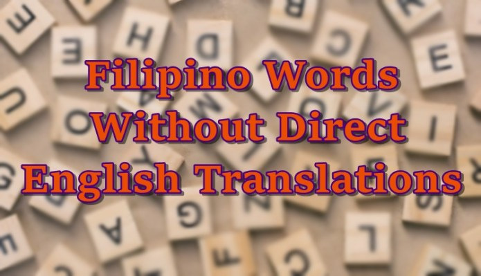 filipino words