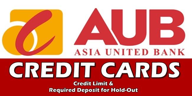 AUB Credit Cards