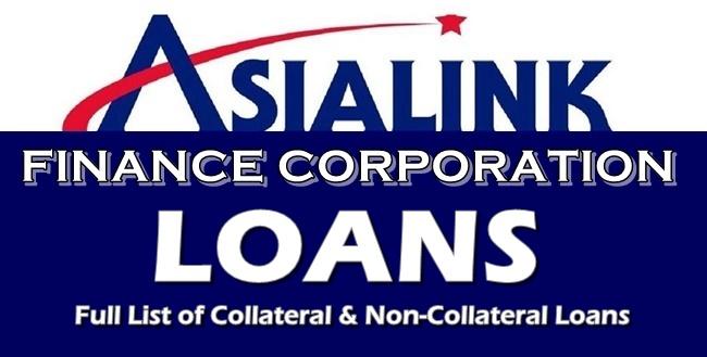 Asialink Finance Loans