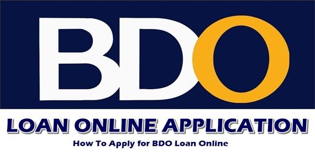 BDO Loan Online Application