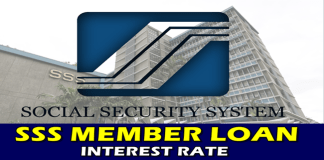 SSS Member Loan Interest Rate