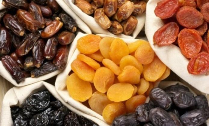 4. Dried Fruits