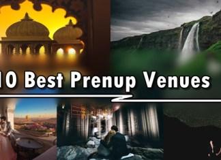 Best Prenup Venue