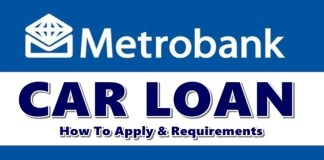 Metrobank Car Loan Apply