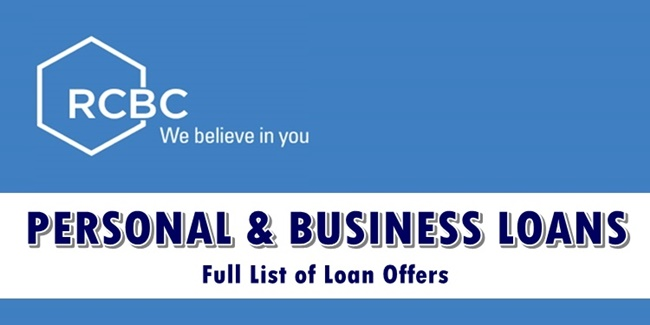 RCBC Personal & Business Loans