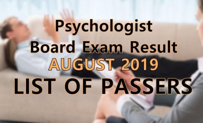 psychologist board exam