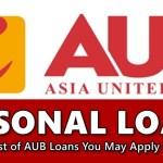 AUB Personal Loans
