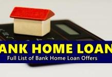 Bank Home Loans